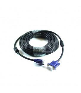 Câble VGA 10,0m noir