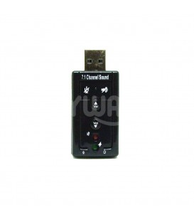 Adaptateur Carte Son Externe 3D Audio Micro Casque