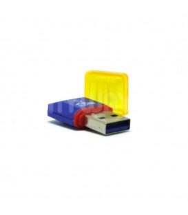 adapateur USB micro SD Bleu