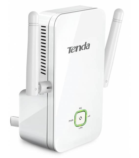 Tenda A301 Prolongateur Répéteur Wi-Fi 300Mbps 2 Antennesngateur Répéteur Wi-Fi 300Mbps 2 Antennes