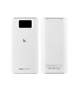 Hoco UPB05 10000mAh Batterie Externe avec écran LCD - blanc