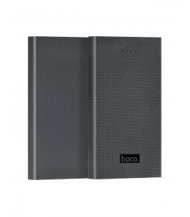 HOCO B12A power bank en fiber de Carbone LED DC5V