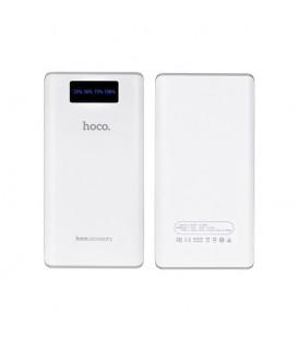 HOCO B3 20000 mAh Portable Power Bank Double USB Affichage Numérique avec lampe de Poche pour iPhone Samsung Sony smartphone