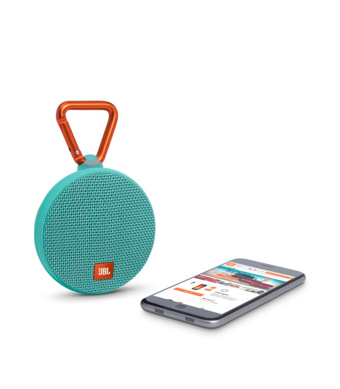 jbl clip 2 haut parleur etanche ultra portable bluetooth. Black Bedroom Furniture Sets. Home Design Ideas
