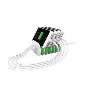 DIGITPLUS 6 USB 7A Station de recharge pour Smartphone et Tablettes