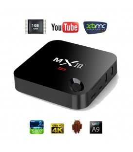 MXIII 4K Android Tv Quad Core 2GHz