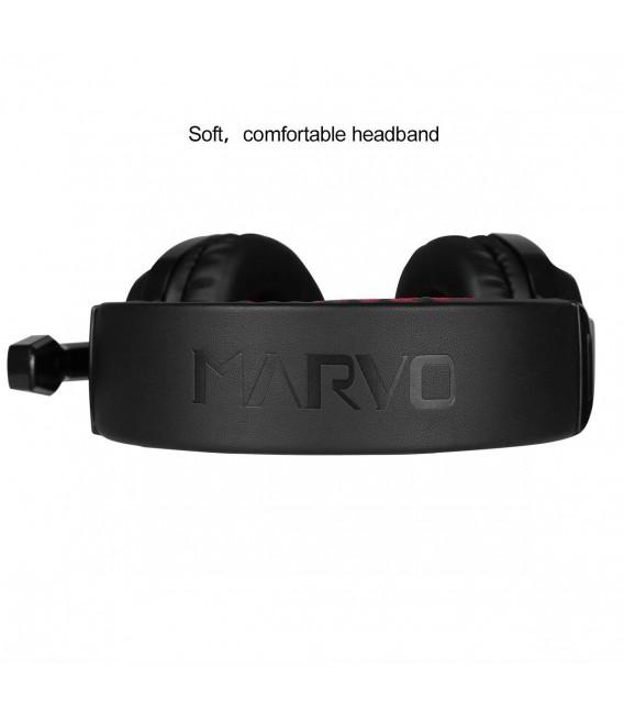 Casque MARVO H8329 pour gamer avec Microphone