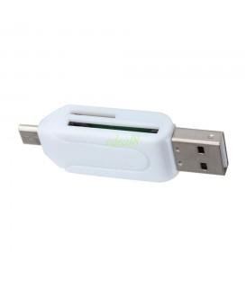 Adaptateur USB SD et Micro SD