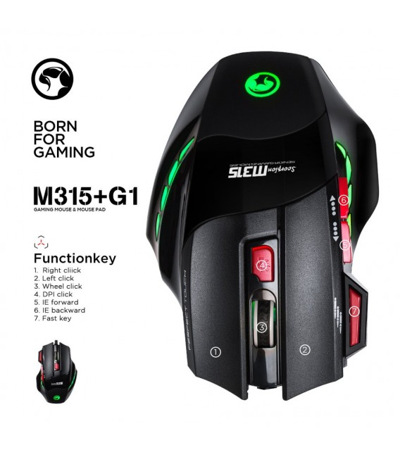 Souris Scorpion M315 SENIOR