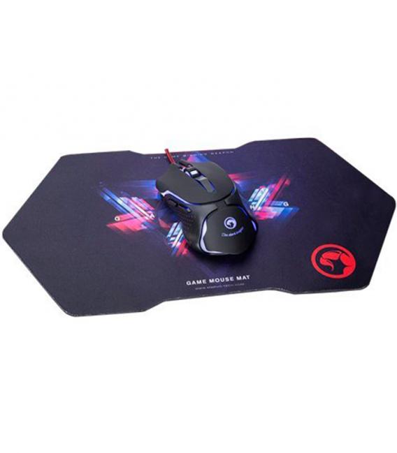 Souris Marvo M307+G7 gamer 6 boutons et 7 couleurs LED avec tapis