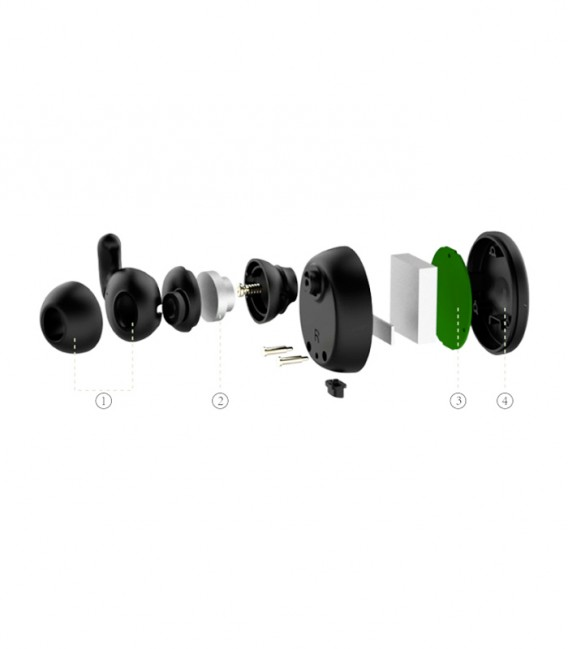 Earbuds PaMu écouteurs sans fil Bluetooth avec boitier de chargement