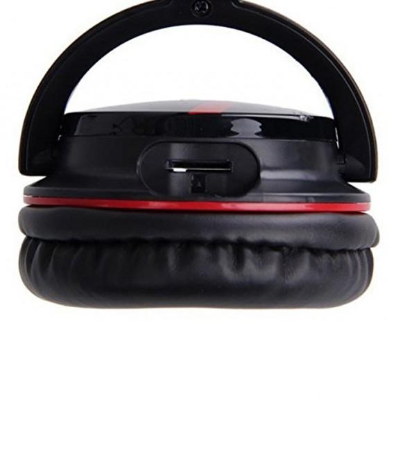Casque Bluetooth NIA Q3 4 in 1 Stereo avec lecteur Carte Mémoire - Radio FM