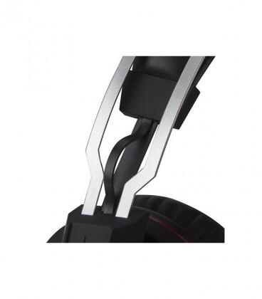 Combo Clavier et souris sans fil avec casque 7.1 USB Surround Stéréo avec éclairage LED et tapis waterproof et antidérapante