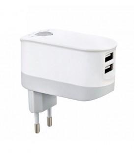 Chargeur 2 Ports USB avec minuterie de temps