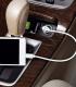 Chargeur de voiture 12WATT/2.4A avec câble Micro USB