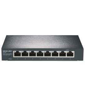 Switch 8 Ports Gigabit Mercury SG108M