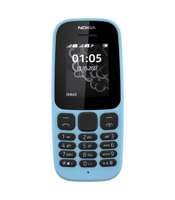 "Nokia 105 2017 - 1.8"" - DOUBLE SIM avec Radio FM"