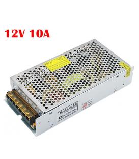 Boite d'alimentation Metal 12V - 10A (10A12V-S)
