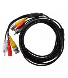 Cable Camera + Alimentation avec connecteur (10 Metres)
