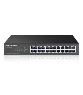 Switch Gigabit 10/100/100 - Rackable - 24 Ports