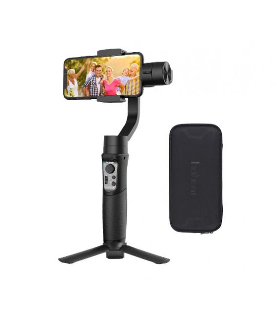 Stabilisateur Gimbal de  Portable, GoPro Avec Tracking Motion,Time Lapse ,Focus ,Zoom