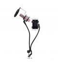 Support de Microphone Professionnel avec Support Portable et un Filtre Anti-Pop