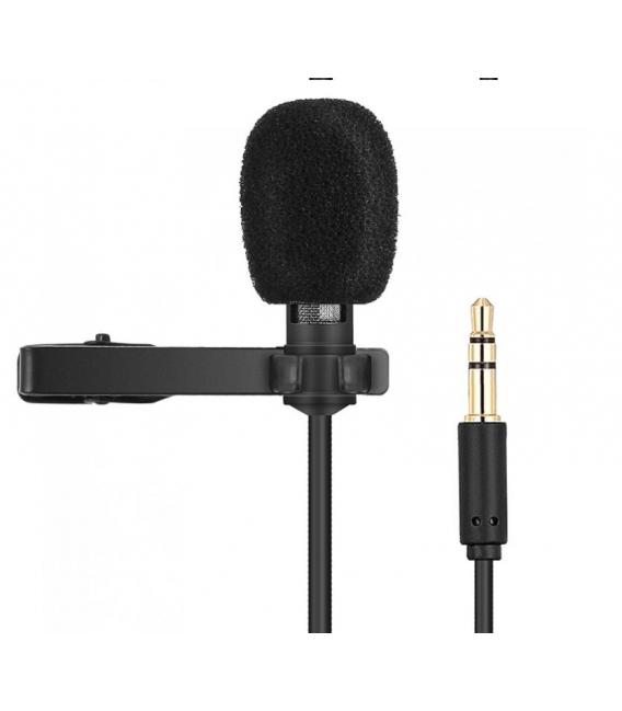 Microphone Câble R955  Lavalier Multifonction Avec Câble Audio pour Conférences, Réunions, Enseignement...