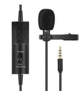 Microphone Câble R955S  Lavalier Multifonction Avec Câble Audio pour Conférences, Réunions.