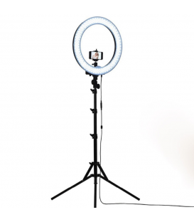 Anneau lumineux LED avec Trépied Support Pour La Photographie Caméra Photo/Studio/téléphone/vidéo