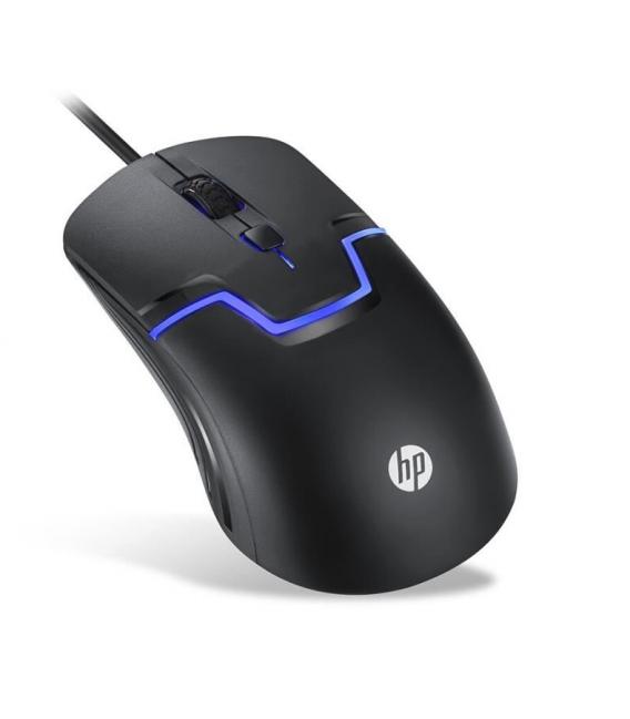 Souris Gamer professionnel HP Avec LED et Filaire Optique 1600DPI