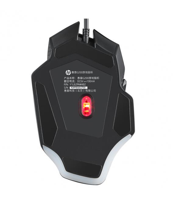 Souris Gamer Avec USB Optique filaire et 6 Boutons