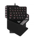 Clavier Gamer AULA à une Main avec fil USB et 38 Touches Rétro-éclairé