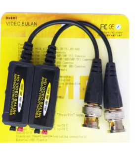 Connecteur de balun vidéo, Émetteurs-Récepteurs passifs .