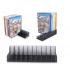 Pack 5 en 1 avec Micro-Casque Stéréo pour PS, Double dock de charge, support de stockage