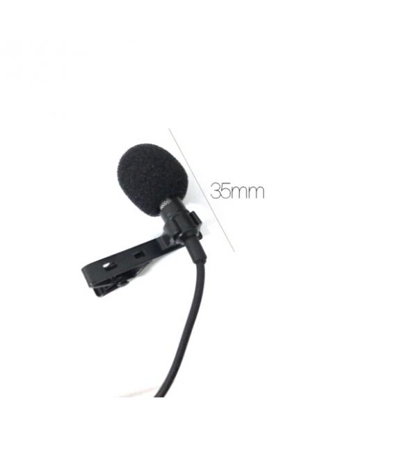 Microphone Câble R12  Multifonction Avec Câble Audio pour Conférences, Réunions.