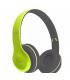 Casque Stéréo Bluetooth avec Lecteur pour carte mémoire