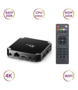 TV Box X96 Mini 2GB RAM et 16GO de stockage Amlogic S905X