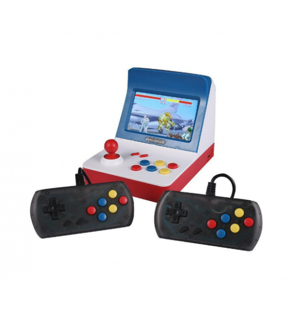 Console de jeu Mini Rétro Arcade 3000in1 avec Câble TV et 2 Manettes