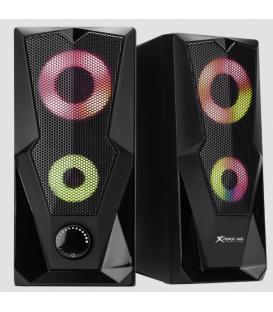 Haut-parleurs Stereo Gamer XTRIKE SK-501  avec LED RGB