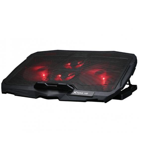Refroidisseur XTRIKE FN-802 pour ordinateur portable jusqu'à 16 pouces rétro-éclairage