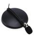 Microphone Stéréo Lavalier 911 pour Bureau et Micro-cravate Condenseur avec Support, Blanc