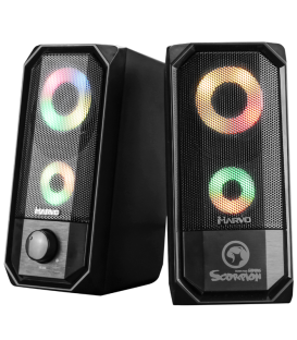 Haut-parleurs Gamer Stereo MARVO SG-265 Rétro-éclairé