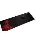 Tapis de Souris Noir et Rouge pour Gaming
