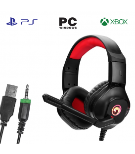 Casque Stereo Gamer MARVO  HG8929 Omnidirectionnel avec Microphone compatible avec PC, PS4 et Xbox