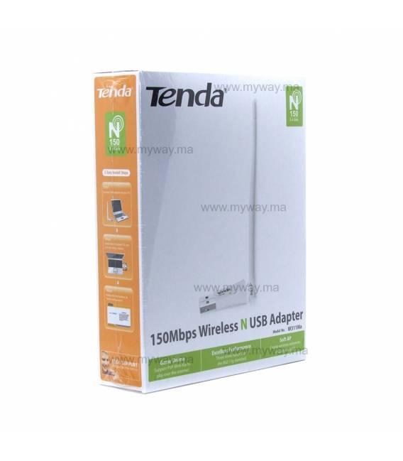 Tenda W311MA Clé USB Wi-Fi W311MA 150 Mbps avec Antenne Intégrée