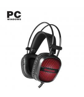 Micro-casque MARVO HG8941 USB et Jack 3.5mm Surround Stéréo Réducteur de Bruit avec éclairage LED et microphone