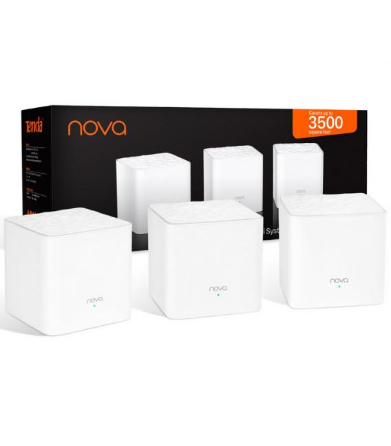 Système Wi-FI Tenda Nova MW3 avec Routeur & Répéteur Wi-FI Remplacement