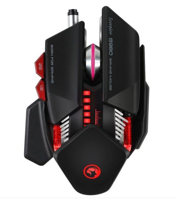 Souris Gamer MARVO G980 6 Boutons Programmable Full RGB