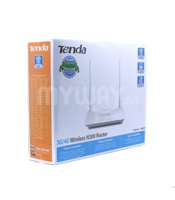 Tenda 4G630 Routeur 4G/3G N300 avec Switch 4 ports