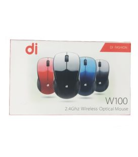 Souris Optical W100 sans fil 1600DPI